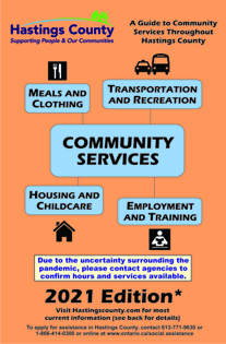 Picture of Community services booklet 2021